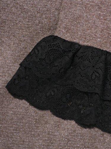 Sukienka damska Alesia IV, jesienna kreacja z modnymi rękawami.