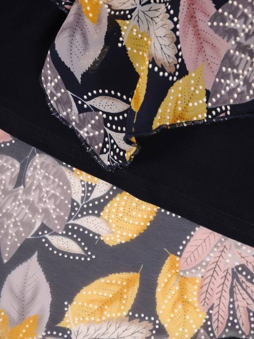 Asymetryczna bluzka w kwiaty 27662