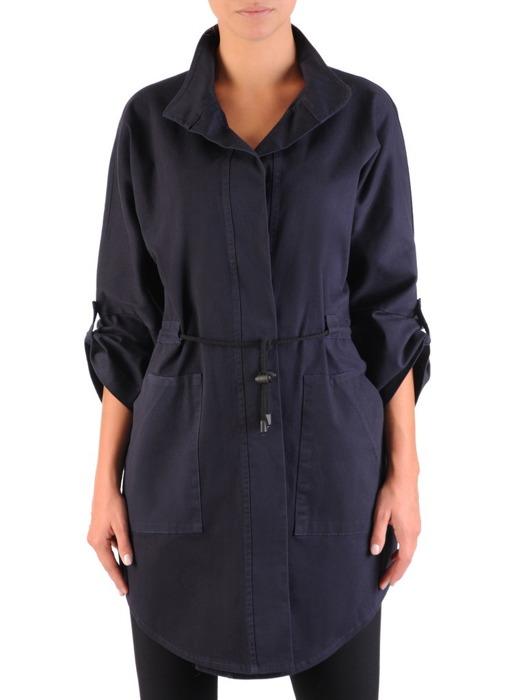 Bawełniana kurtka oversize z dużymi kieszeniami 22013