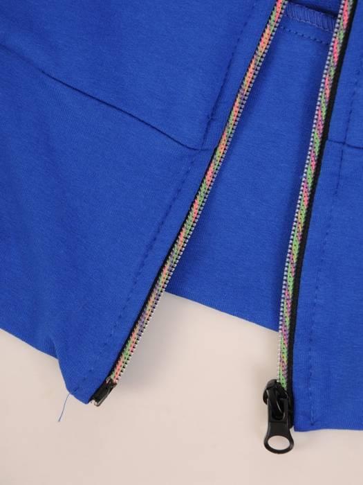 Bawełniany dres damski, bluza z kapturem zapinana na zamek 29698