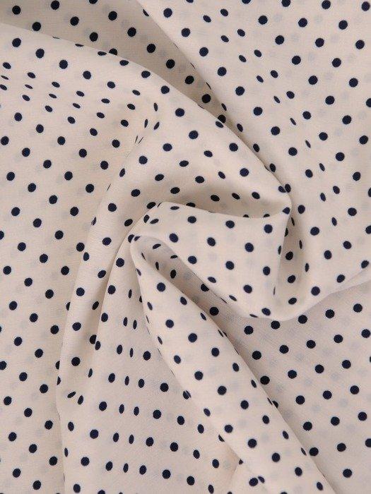 Biała bluzka w groszki 25881