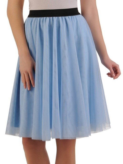 Błękitna tiulowa spódnica 24893