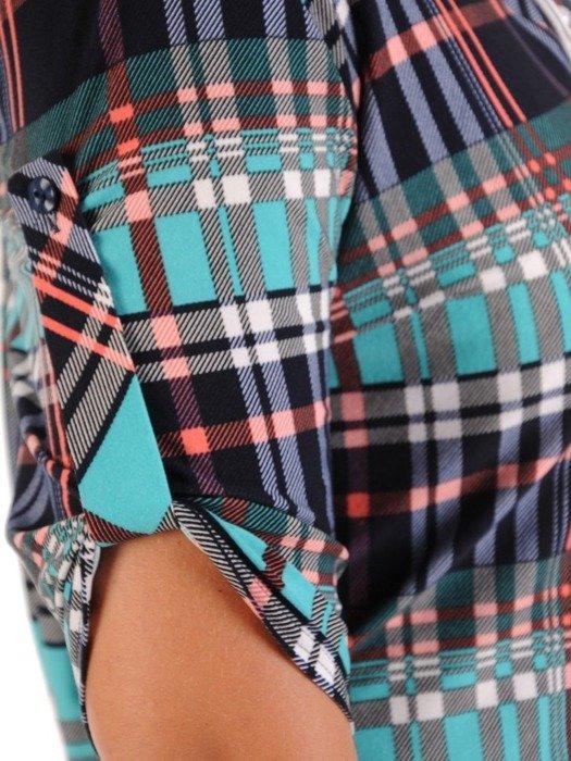Bluzka damska w kratę 26567
