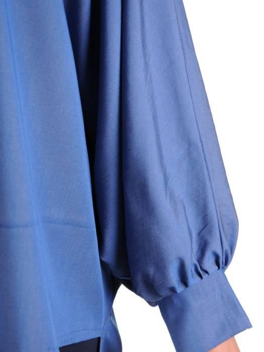 Bluzka damska z przedłużanym tyłem 29490