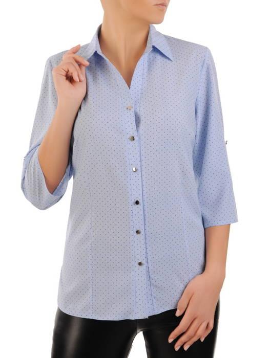 Bluzka damska zapinana na guziki 30852