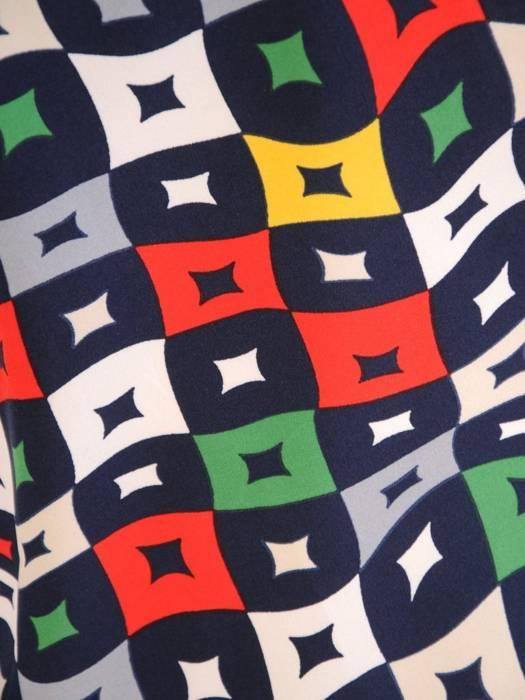 Bluzka koszulowa ze stójką 29565