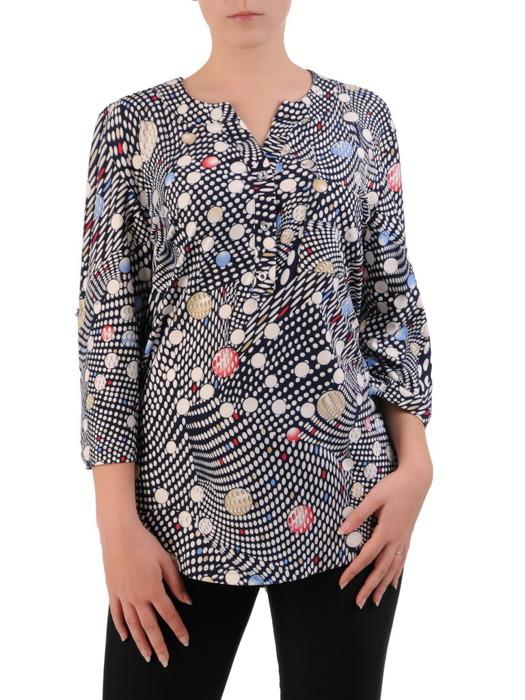 Bluzka w geometrycznym wzorze 20980.