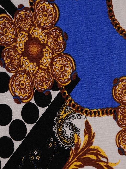 Bluzka z abstrakcyjnym wzorem Marzanna I.