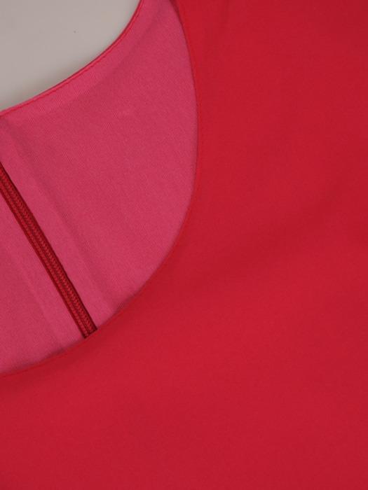 Bluzka z plisowanymi wstawkami 20658.