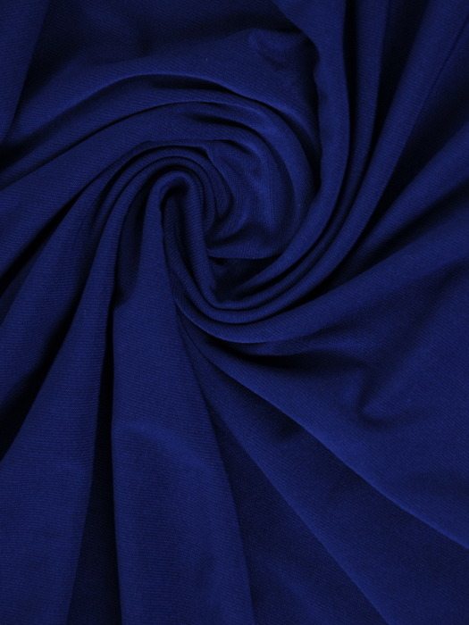 """Chabrowa sukienka z dzianiny, rozkloszowana kreacja z dekoltem typu """"woda"""" 20615."""