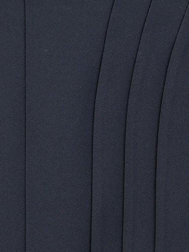 Czarna spódnica z wyszczuplającymi przeszyciami Halszka.