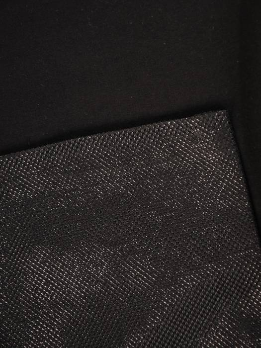 Czarna sukienka z koronkowymi dodatkami 28628