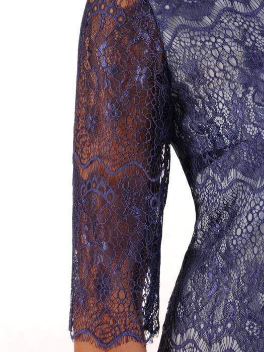 Dwuwarstwowa sukienka z eleganckiej koronki 21318