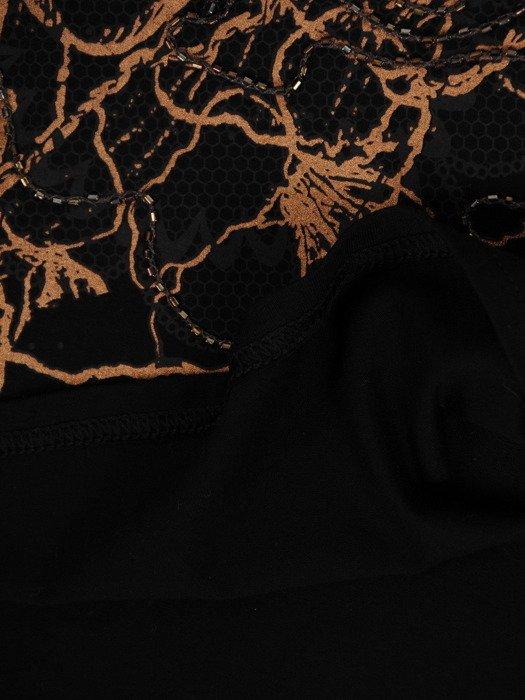 Dzianinowa bluzka z dekoracją Fiona III.