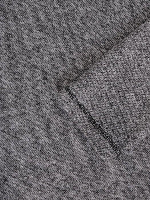 Dzianinowa bluzka z modnym nadrukiem 17841.