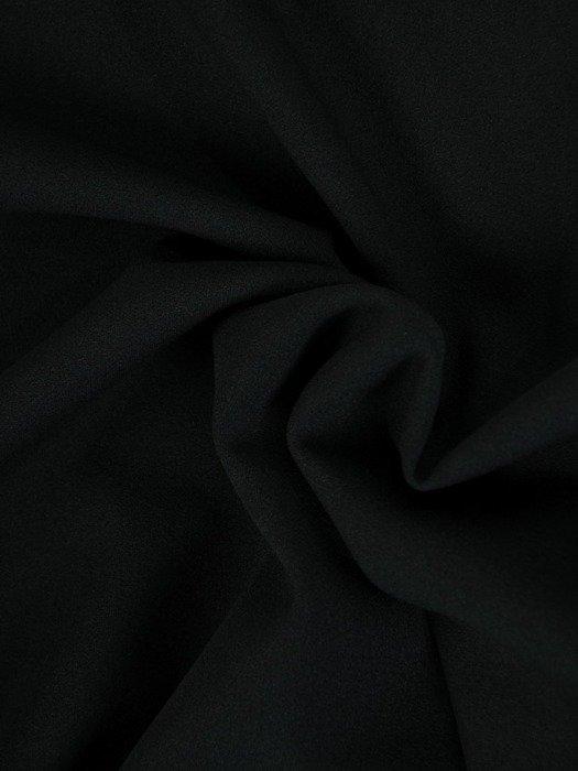 Dzianinowa sukienka z ozdobnym wiązaniem i tiulowymi rękawami 24417