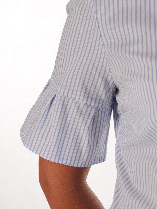 Elegancka bluzka w delikatne prążki 19377