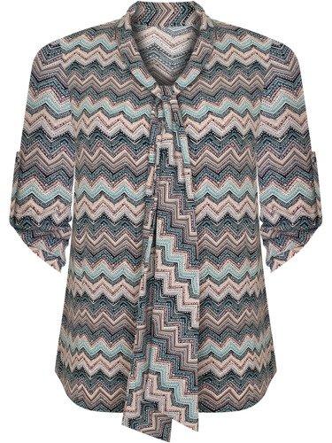 Elegancka bluzka z atrakcyjnym wiązaniem Selma IV.