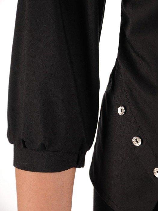 Elegancka bluzka z ozdobnymi guzikami 24681