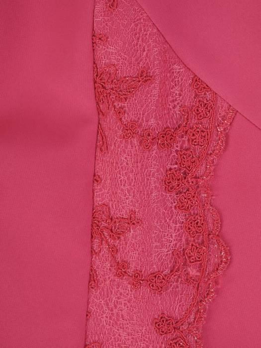 Elegancka sukienka damska, kreacja z koronkowymi wstawkami 28407