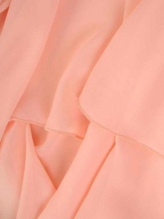 Elegancka sukienka na wesele, kreacja z dwuwarstwową spódnicą 30413