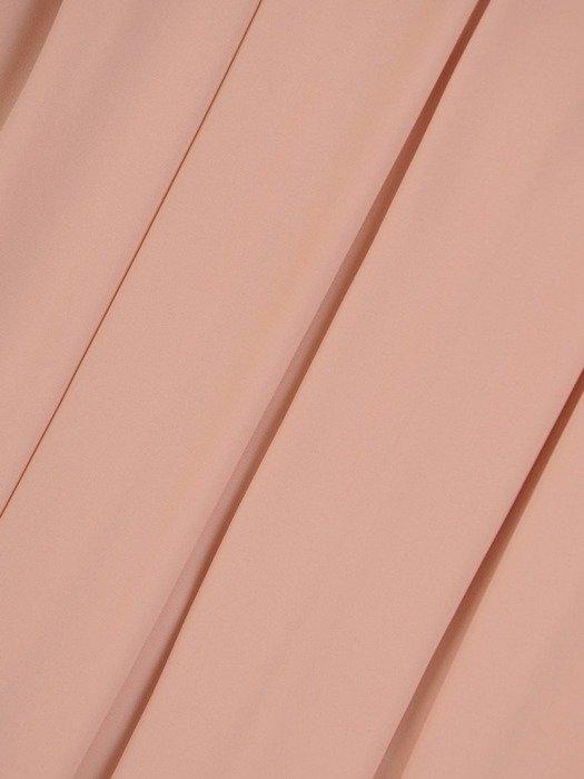 Elegancka suknia ułożona w kontrafałdy, długa kreacja z modnym wykończeniem 26094