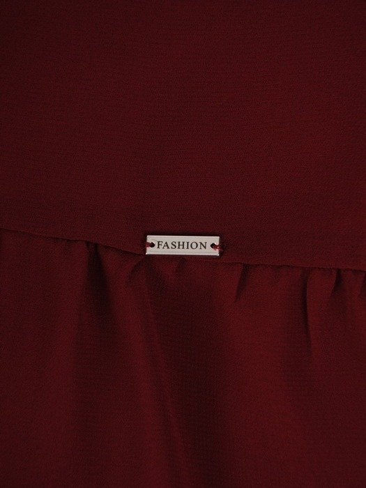 Elegancka szyfonowa bluzka z falbaną 24729