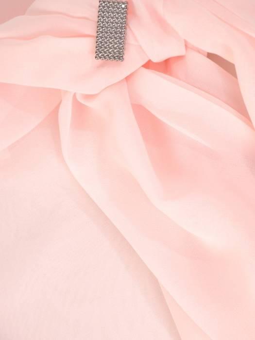 Elegancki komplet damski, koronkowa  sukienka z szyfonową bluzką 29344
