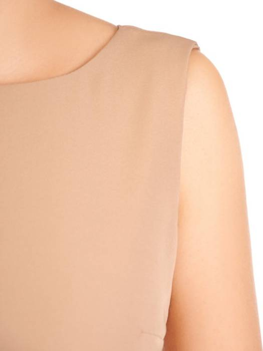 Elegancki komplet damski, prosta sukienka z koronkową narzutką 30168