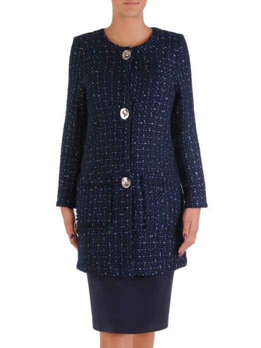 Elegancki płaszcz z dużymi kieszeniami 18074.
