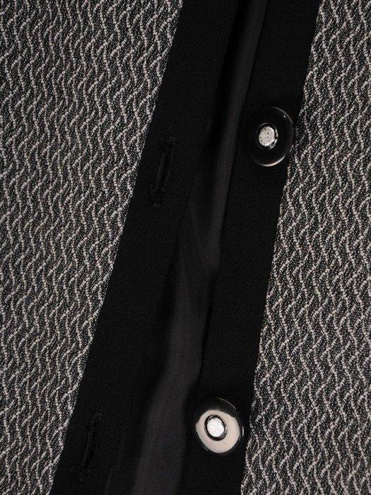 Klasyczna garsonka z wyszczuplającymi wstawkami 25864