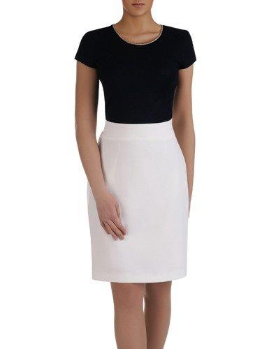 Klasyczna spódnica w kolorze białym Helga II.
