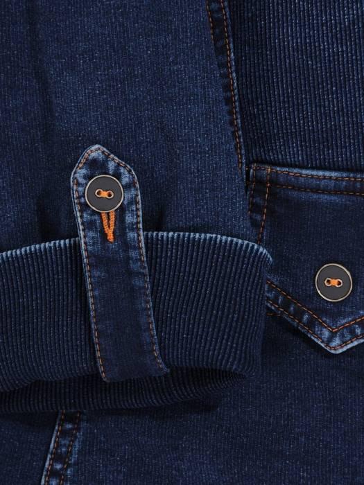 Kolekcja 28344, dzianinowe imitujące dżins żakiety, spódnica i spodnie