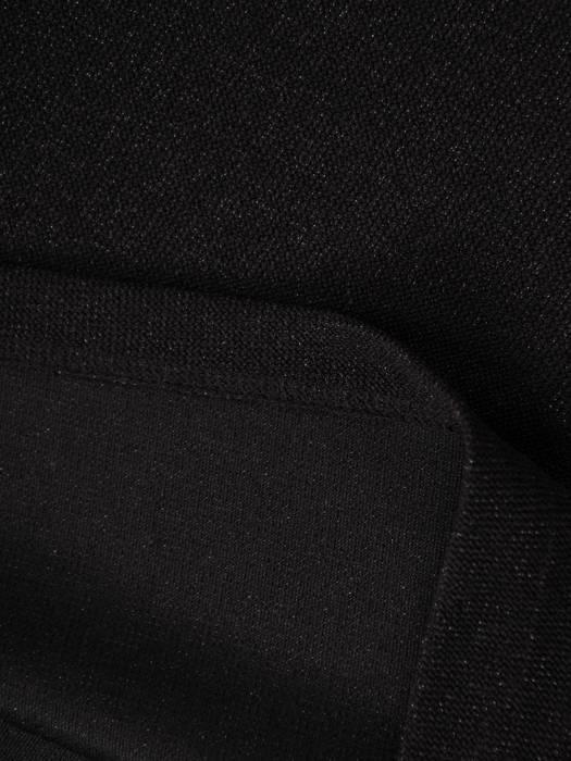 Komplet damski, czarna spódnica z bluzką 28229