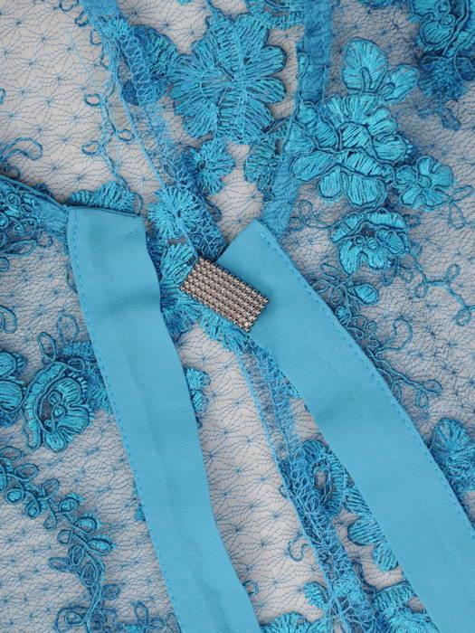 Komplet damski, zwiewna sukienka z eleganckim, koronkowym żakietem 30775