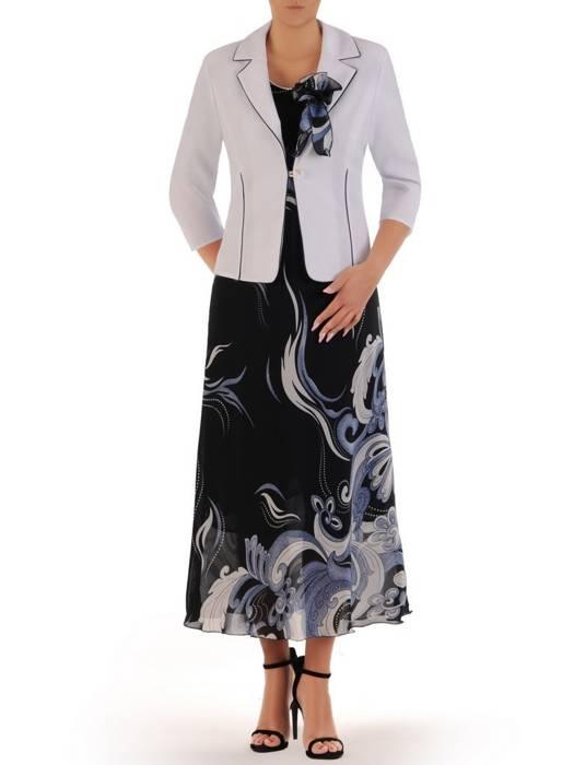Kostium damski, elegancka sukienka z żakietem 26449
