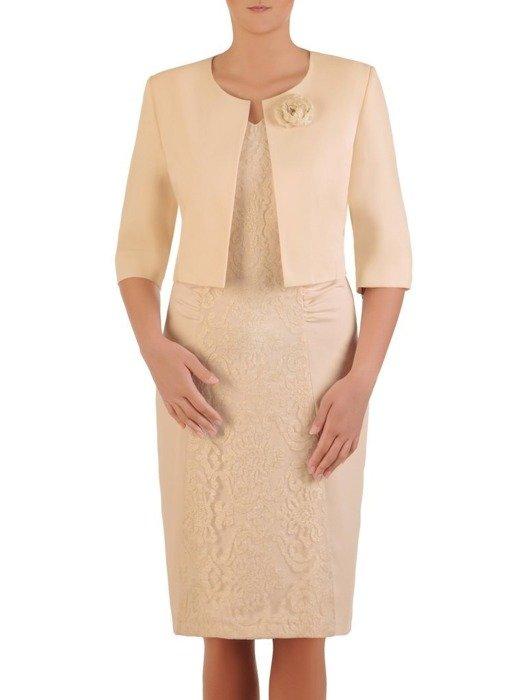 Kostium damski, elegancki komplet na wesele 26187