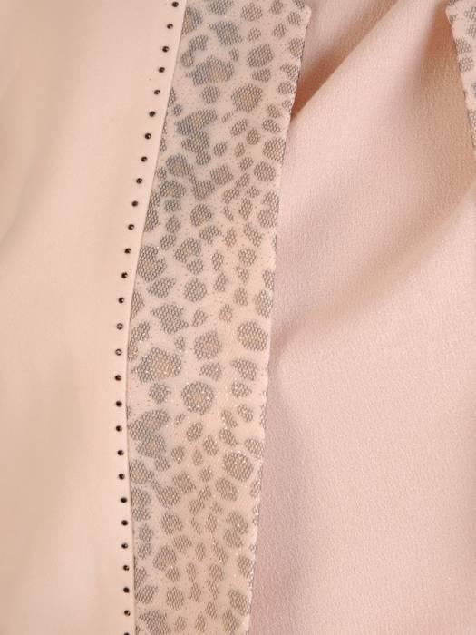 Kremowy elegancki żakiet 28590