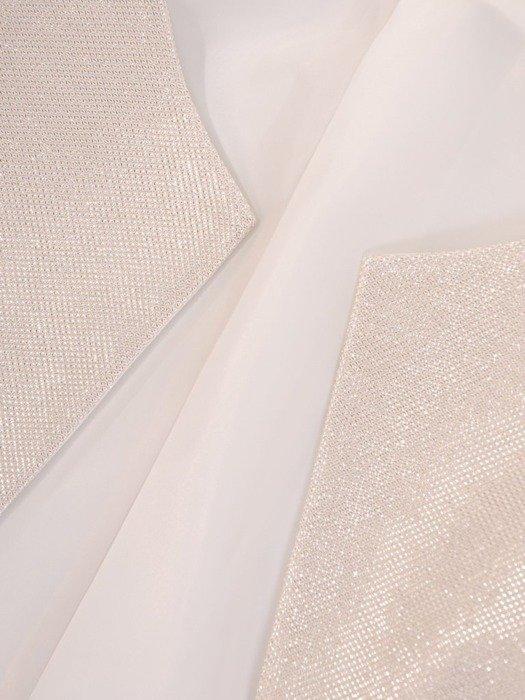 Krótki żakiet z połyskującej tkaniny 22514