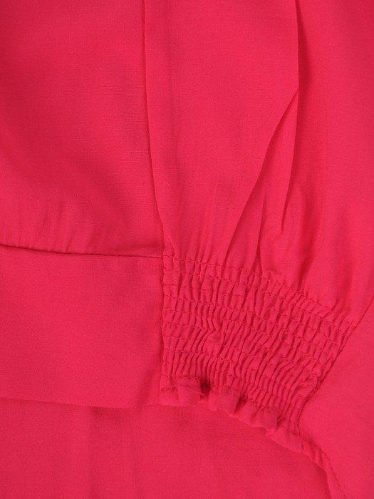 Luźna bluzka wykończona gumą Jolita I