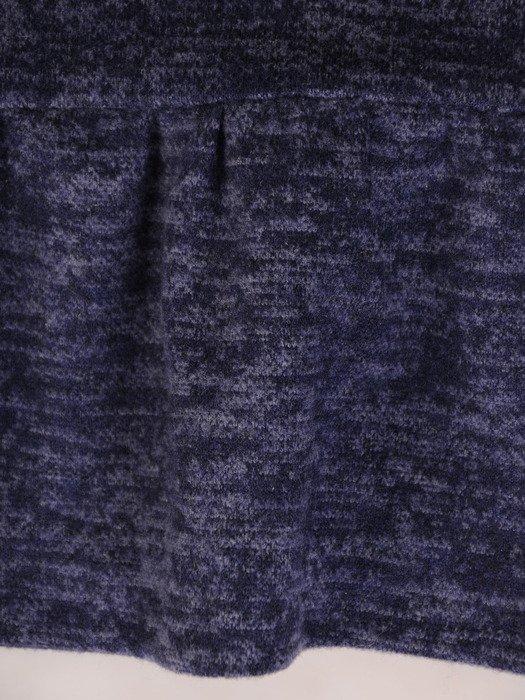 Melanżowa sukienka z ozdobnymi falbankami 18501.