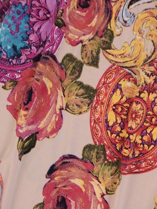 Modna tunika w kwiaty 26193