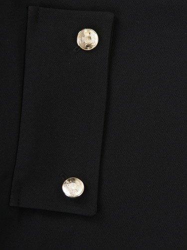Nowoczesna sukienka z ażurowymi rękawami 14182