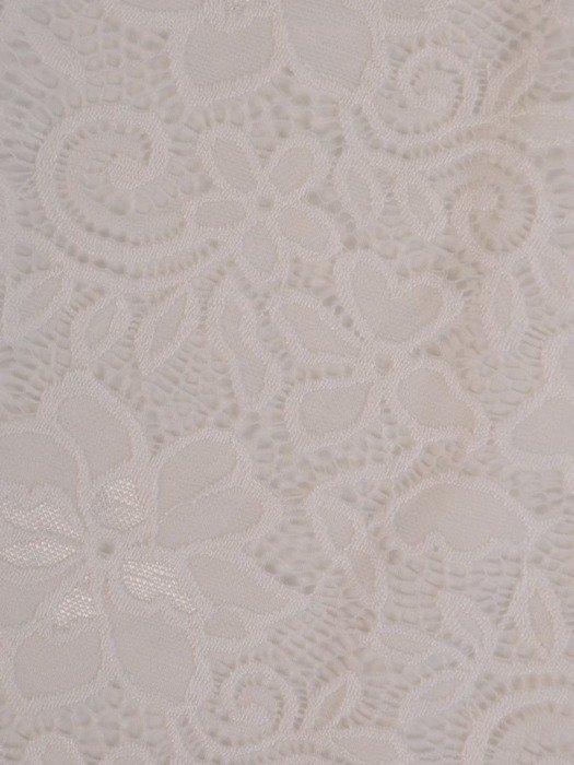 Prosta sukienka z koronki, kreacja z ozdobnymi rękawami 22584