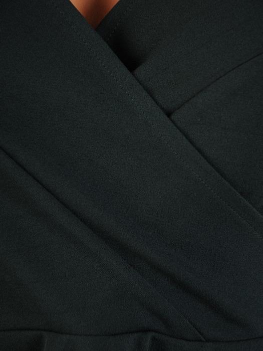 Rozkloszowana sukienka z kopertowym dekoltem 21824