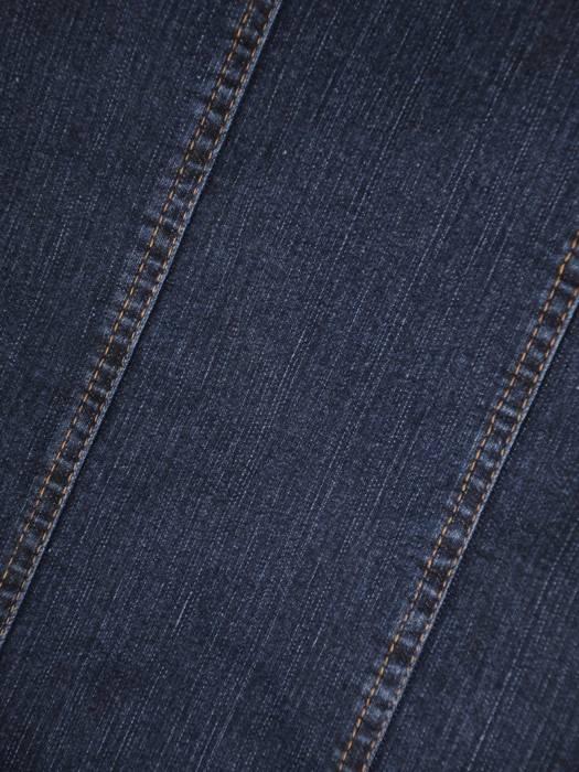 Spódnica dżinsowa z przeszyciami 29127