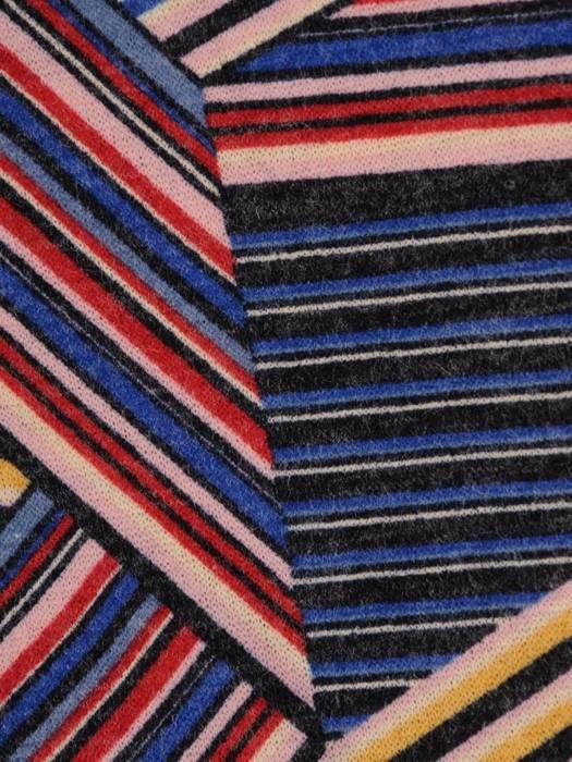 Sukienka codzienna, prosta kreacja w geometrycznym wzorze 27695