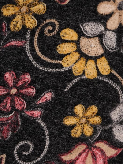 Sukienka codzienna, prosta kreacja w kwiaty 21914.