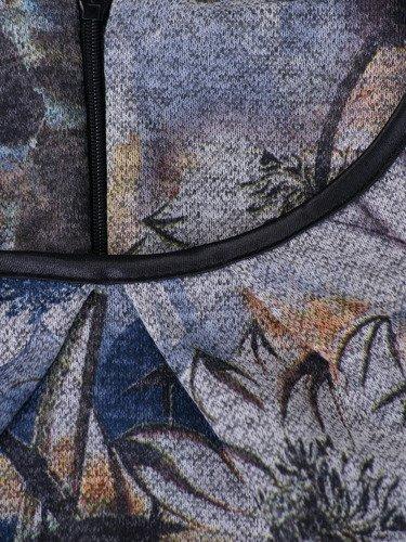 Sukienka damska 14657, wyszczuplająca kreacja z dzianiny.