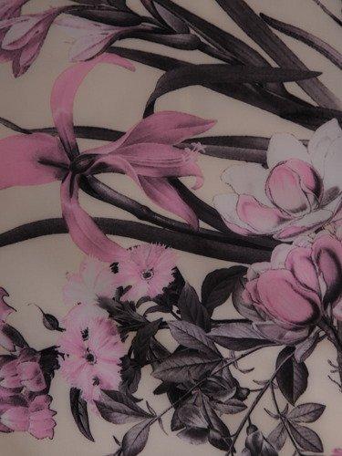 Sukienka damska 15868, wiosenna kreacja w kwiaty.